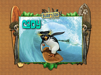 Screenshot of Surf's Up Video Game