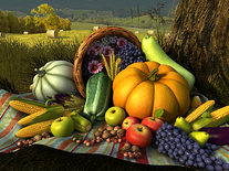 Small screenshot 2 of Thanksgiving Day 3D