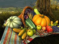 Small screenshot 3 of Thanksgiving Day 3D