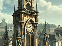 Small screenshot 2 of Tower Clock 3D