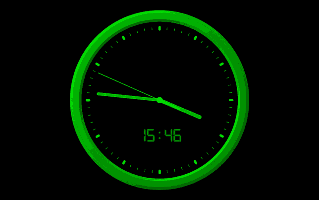 113 Clock Screensavers for Windows & Mac