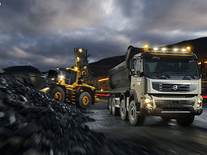 Screenshot of Volvo FMX