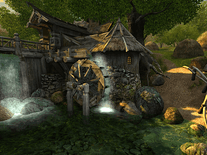 Screenshot of Watermill 3D