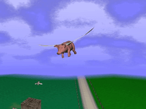 Screenshot of When Pigs Fly 3D