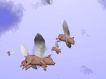 Small screenshot 2 of When Pigs Fly 3D
