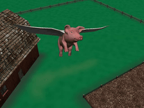 Small screenshot 3 of When Pigs Fly 3D