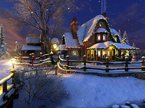 Screenshot of White Christmas 3D