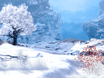 Screenshot of Winter in Mountain