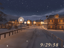 Screenshot of Winter Night 3D