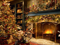 Screenshot of Xmass Fireplace