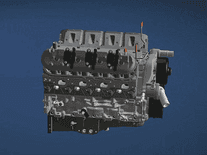 Screenshot of ZR1 LS9 Engine Assembly