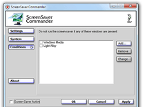 Small screenshot 3 of ScreenSaver Commander